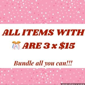 Accessories - SALE! 3 pieces for $15! Put in a Bundle!!